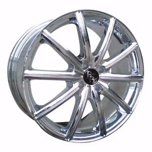 **PROMOTION** MAGS NEUFS BAD BOY WHEELS 16'' 5 X 114.3 CHROME