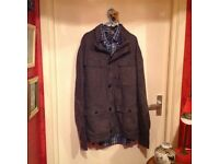 Gents Casual Jacket In size Ex/Large really nice In Dark Grey,,£10