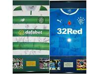 WIN A SIGNED CELTIC OR RANGERS SHIRT