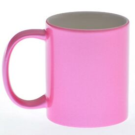 Blank, Sparkly mugs for sublimation printing - case of 36 mixed, gold, silver, pink