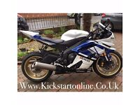 2013 YAMAHA YZFR6 VERY CLEAN BIKE MUST BE SEEN FINANCE IS AVAILABLE CHEAPEST ANYWHERE £5399