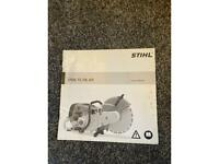 Stihl 700, 800 instruction manual