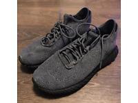 Adidas tubular doom trainers in grey size 9.5