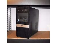 HP Intel Dual Core PC Tower Windows 10 Microsoft Office