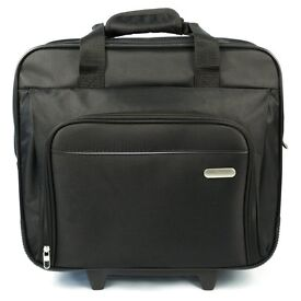 Targus TBR003EU Executive Laptop Roller Bag on Wheels Fits Laptops, 15-16 Inches Black New with Tags