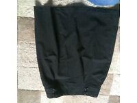 Black school skirt age 13