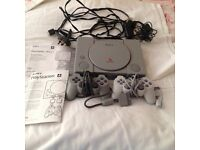 PS1 Console, Games, Accessories