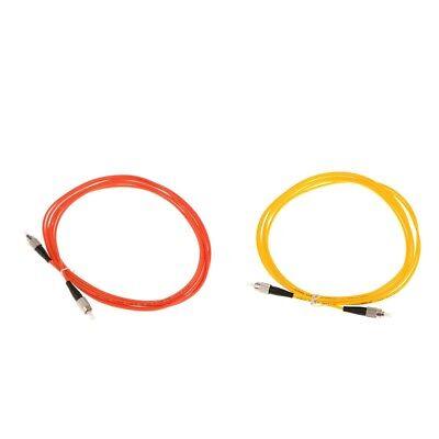 2xFC zu FC Simplex Singlemode & Multi Mode LWL Kabel Kabel Linie ()
