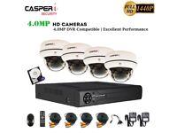 CCTV 8CH DVR Full HD 4MP 1440P Camera 30M Night Vision Home/Shop Security System & 1TB HDD