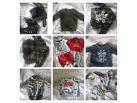 Baby boy clothes 0-3 montbs