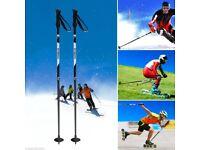 ENKEEO Carbon Fibre Ski Poles