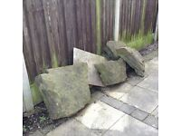 Large rockery stones available. Free to a good home. Buyer must collect