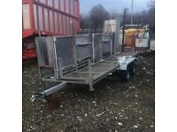 Sheep clipping trailer