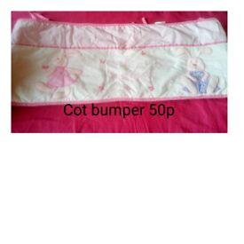 Cot bumper
