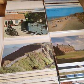 An album of postcards