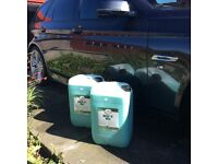 Turtle wash and wax shampoo 25 litres