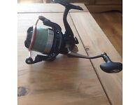 Carp fishing Daiwa cast'izm 25 QDA reel