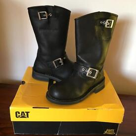 New biker boots caterpillar sz3