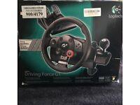 Logitech Driving Force feedback Wheel for Playstation 3