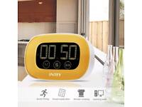 Kitchen Digital Cooking Timer Clock Touchscreen with LCD Display and Loud Alarm,Magnetic Back