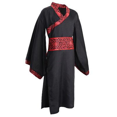 Chinesischer Hanfu Traditionellen Stil Cosplay Kostüm für Männer, Rot und