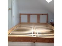 Double Bed Base - Sultan Luroy, from IKEA - Wooden Slatted Base