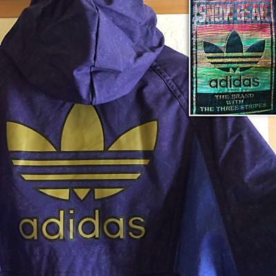90's adidas winter sports jacket blue size L men fashion casual from Japan F/S