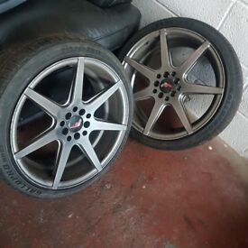 Japan racing 5x100 and 5x120 alloys