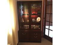 Mahogany wood, G-Plan Display Cabinet