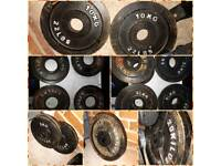 Olympic cast iron weights 125kg