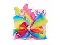 JoJo Siwa bow rainbow coloured £5
