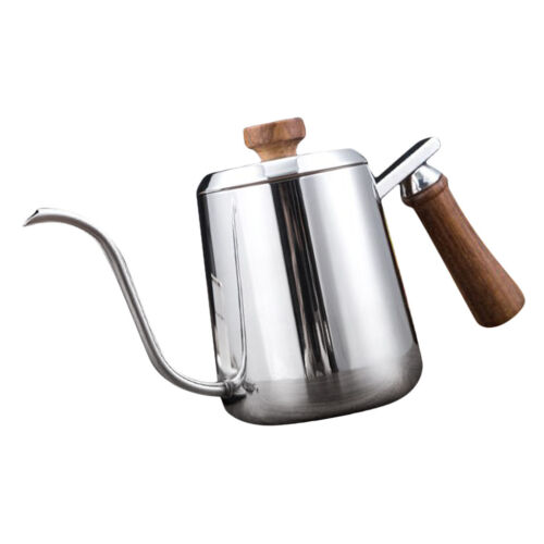 Kitchen Gooseneck Kettle Pour Over Coffee Drip Pot Stainless Steel
