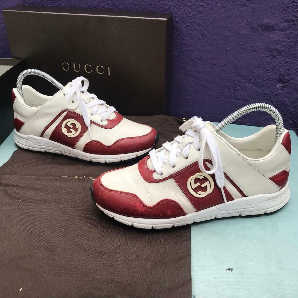 bfb989fe9888 Gucci runner trainers size 3