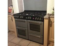 Belling Range Cooker 100cm GAS Double oven, grill and hob (7 rings)