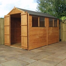 garden shed apex roof 10x6 brand new 549 99