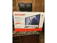 Sharp 32 inch Smart LED HD TV, Brand new, boxed and unopened.