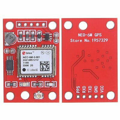 Gyneo6mv2 Gps Neo-6m Gy-neo6mv2 Board With Antenna Module For Arduino