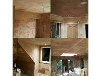 Plasterer no job to big or too small competitive rates.