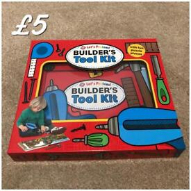 Brand new never been used builders tool kit book