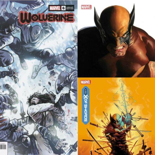 WOLVERINE 6 -1:100 - MARVEL COMICS - *PRE-SALE* 10/07/20 - X OF SWORDS - X-MEN