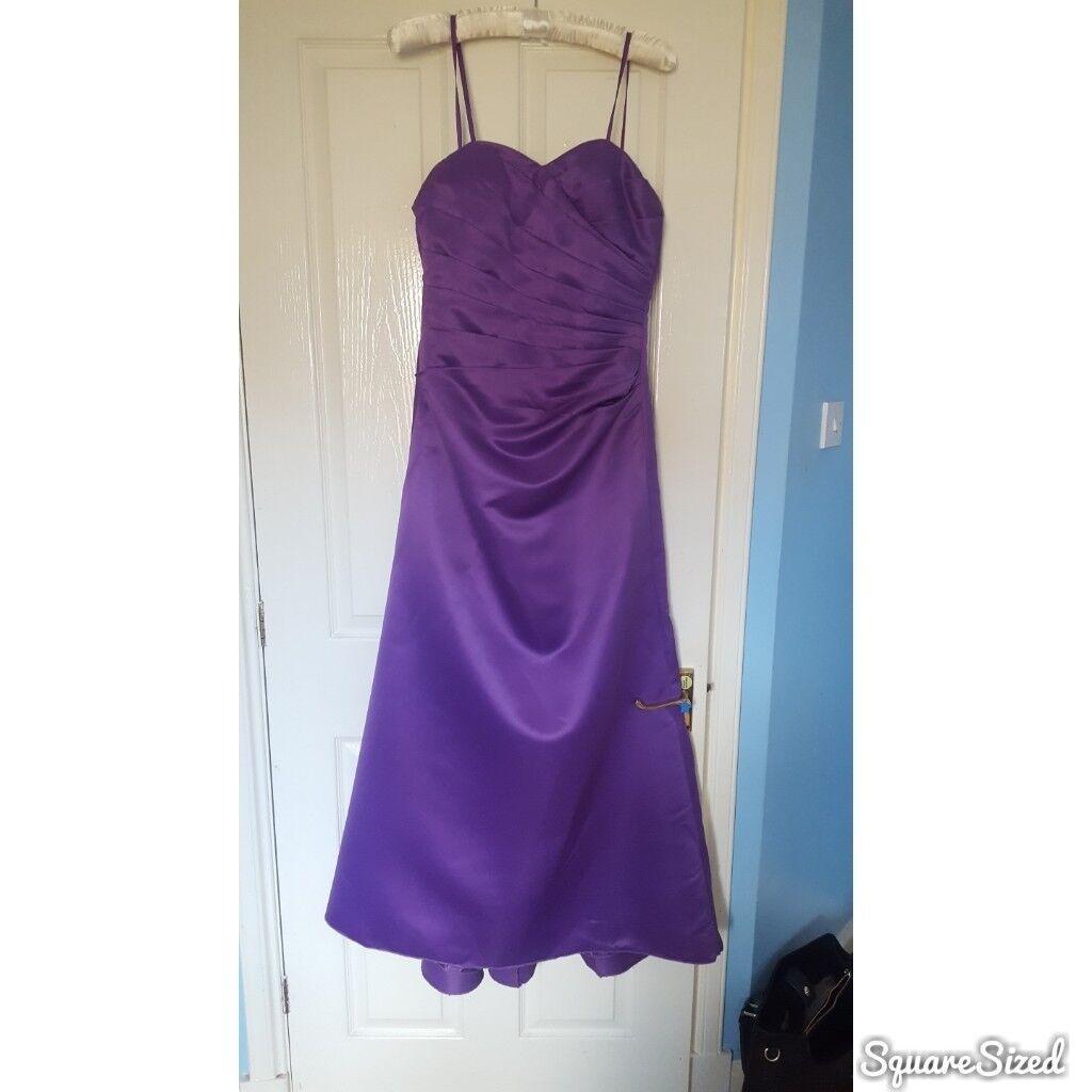 Purple prom/bridesmaid dress   in Livingston, West Lothian   Gumtree