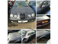 Jaguar S-Type V6 Sport Auto 2.5 2004 Slate Grey LHL Petrol (Front Bumper) all parts available