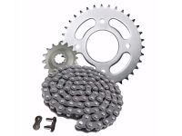 HONDA WAVE AFS110 AFS 110 AFS110i SPROCKET AND CHAIN DRIVE KIT 2012 - 2015
