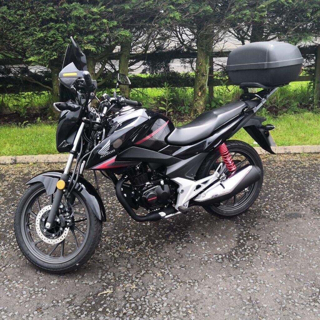 Honda Cb125f Cb 125 F 1600 Miles 100 Mpg 2020 Mot