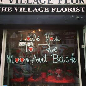 Part time experienced florist wanted for local flower shop