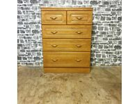 Alstons Furniture Chest of Dawer & Matching Cabinet