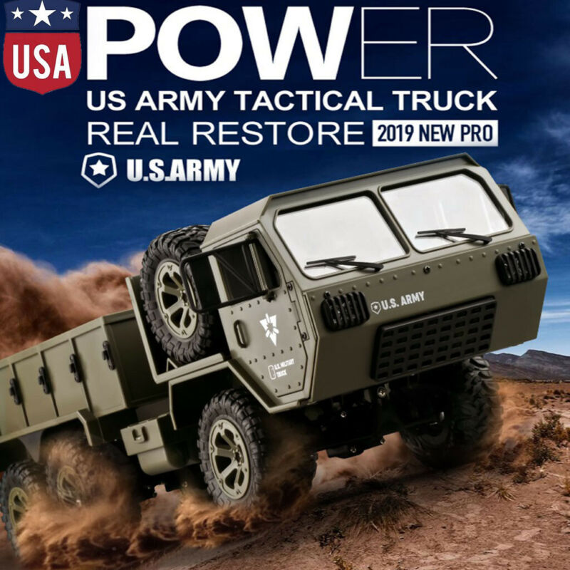 1:16 8x8 2.4G 6WD Electric Powered Military Truck Off-road V