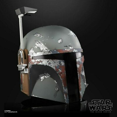 Hasbro Star Wars E5 The Black Series Boba Fett Premium Electronic Helmet (NEW)