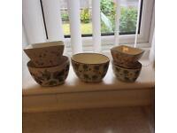 Pretty ceramic dishes