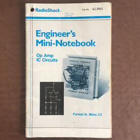 RadioShak Engineer's Mini-Notebook Op Amp IC Circuits. Forrest M. Mims, III. Can post.